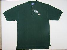 Pendleton Men's Short Sleeve emblem Henley  Shirt G Green Nwt large