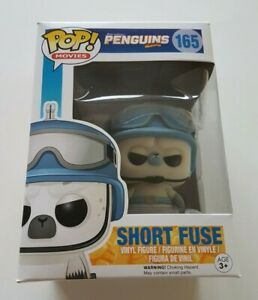 Funko Pop Movies 165 Penguins Of Madagascar Short Fuse