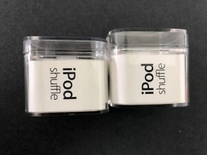 Two (2) Original Boxes For Apple  iPod Shuffle 4th Generation