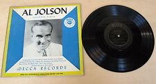 "Al Jolson – Souvenir Album DECCA DLP 5029 - 10"""