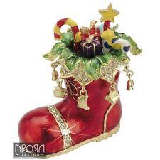 Craycombe Trinkets 6024 Santa Boot Trinket Box