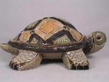 De Rosa Rinconada Emerald Collection Land Turtle Figurine  #1017 - NIB