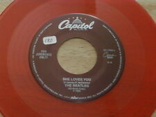 BEATLES~SHE LOVES YOU~RED WAX~CAPITOL~I'LL GET YOU~NEAR MINT~~ POP 45
