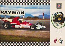 Carte postale édition FISA Serie Gran Prix N°39 : anglais Peter Gethin BRM