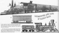 Locomotives Early History + Images 18 Historic Books CD - D313