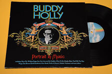 BUDDY HOLLY 2LP PORTRAIT IN MUSIC ORIG GERMANY NM ! MAI SUONATI GATEFOLD
