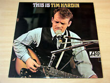 EX/EX- !! Tim Hardin/This Is/1967 Atlantic Mono LP/Plum Label
