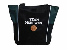 TOTE BAG Personalized Zippered Basketball Travel Sports Competition Coach Mom