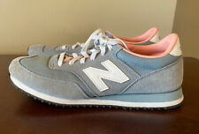 New Balance Womens Gray Pink Suede Casual Comfort Tennis shoes Size 9.5