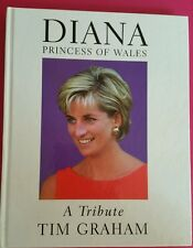 Diana Princess Of Wales A Tribute Hardcove Book BY Tim Graham