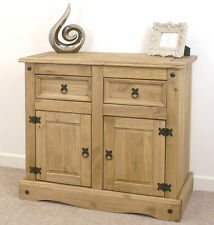 Wooden Sideboard Cabinet Cupboard Corona Mexican Pine by Mercers Furniture