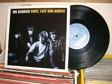 THE BARRIER FIRST LAST AND ALWAYS 10'' EP RECORD