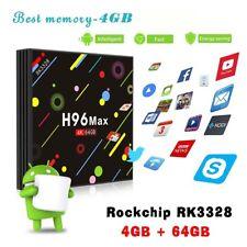 H96 Max-H2 Android 7.1 Smart TV Box 4G DD3 64G EMMC H.265/H.264 video decoder