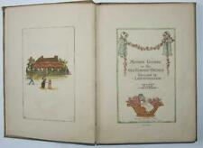 Kate Greenaway, Mother Goose 1881, First Edition, second issue, Colour plates