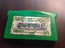 Pokemon Leaf Green Japanese Pocket Monsters GBA ~USA SELLER~ Memory Saves