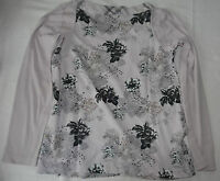 KJ CECIL T-Shirt Gr.S Damen Baumwolle hellpink Muster kaum getragen einwandf