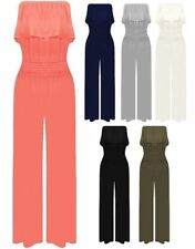 Viscose Machine Washable Solid Jumpsuits, Rompers & Playsuits for Women