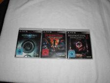 3 Spiele PS3 Resident Evil Revelations/ Revelations 2/ Operation Raccoon City