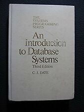 An introduction to database systems (Addison-Wesley systems programming series..