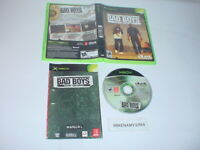 BAD BOYS: MIAMI TAKEDOWN game complete w/ manual for Original Microsoft XBOX
