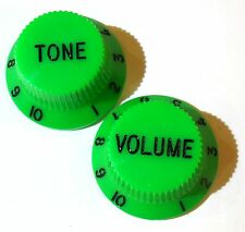 Guitar knobs tone and volume any colour or combination for strat or any 6mm pots