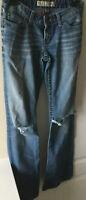 BKE Sabrina womens bootcut denim jeans size 26 x 33 1/2