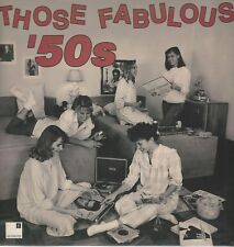 """""""Those Fabulous 50's"""" Sessions DVL2-0877 3 Records 43 Hits Looks NM Plays MINT"""
