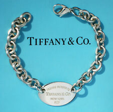 Tiffany & Co Return To TIFFANY Sterling Silver XL Oval Tag Bracelet (New Style)