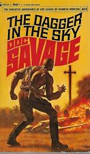 DOC SAVAGE #40: THE DAGGER IN THE SKY  by Kenneth Robeson - 1stPB Printing