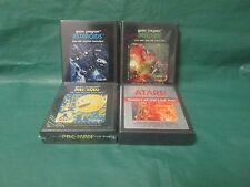 Lot of 4: Atari Games (Atari 2600)Berzerk/Pac-Man/Asteroids/Raiders of the Lost