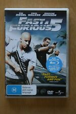 Fast & Furious 5 (DVD, 2011)     Preowned (D186)