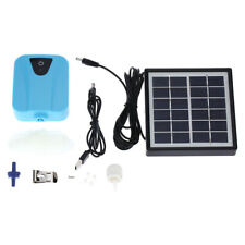 Solar Powered Charging Oxygenator Air Pump Oxygen Aerator For Aquarium Fish Tank