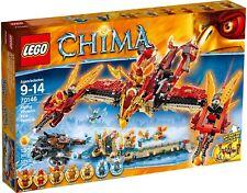 Lego Chima BNIB 70146 Flying Phoenix Fire Temple Legends of Chima