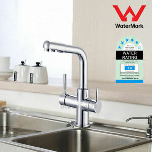 Pure Drinking Water Supply Spout 3 Way Kitchen Sink Mixer Tap RO Filter Faucet
