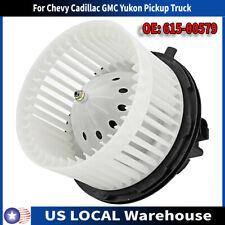 Heater Blower Motor w/ Fan For Chevy Cadillac GMC Yukon Pickup Truck 52400424 US