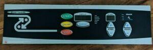 Landice L7 Sports Trainer Display Overlay w/ Electronics Board #70424