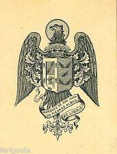 EX-LIBRIS du marquis de SAN JUAN DE PIEDRAS ALBAS. Espagne.