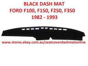 DASH MAT,BLACK DASHMAT FIT FORD, F100,F150,F250,F350 1982 - 1993, BLACK COLOUR