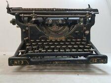 Antique Underwood Standard Typewriter
