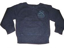 H & M toller Strick Pullover Gr. 98 / 104 blau !!