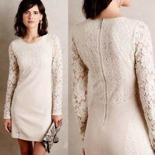 Anthropologie Romona Lace Sheath Dress Flattering Fit Large $248