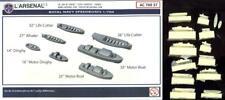 L'Arsenal Models 1/700 ROYAL NAVE SPEEDBOATS (14) Resin Set