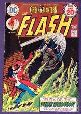 THE FLASH 230 December 1974 7.0-7.5 FN+/VF- DC COMICS GREEN LANTERN Irv Novick