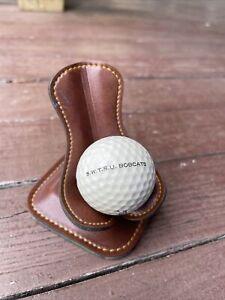 Logo Golf Ball Advertising SWTSU BOBCATS TEXAS COLLEGE