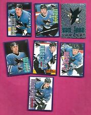 1998-99 PANINI SAN JOSEE SHARKS  STICKER CARD LOT  (INV# C2320)