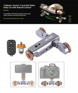 Neewer 3-Wheels Wireless Camera Video Auto Dolly Car with Remote Control Japan