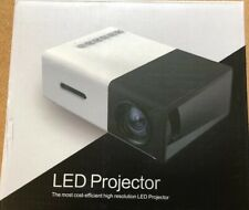 Portable 1080P LED Projector Home Cinema Theater Multimedia High Resolution