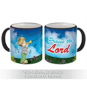Gift Mug : Boy Praise The Lord Christian Religious Jesus God