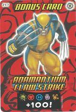 Spider-man Heroes & Villains Card Collection 2013, No.247 Adamantium Claw Strike