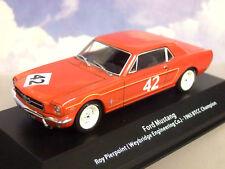 Ford Mustang BTCC Champion 1965 Roy Pierpoint 1 43 Echelle Hr14
